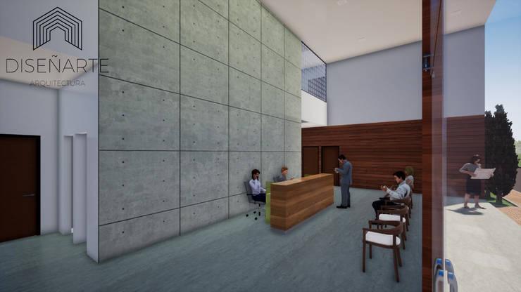 OFICINAS COMERCIALES : Oficinas y Tiendas de estilo  por CONSTRUCCIONES DISEÑARTE