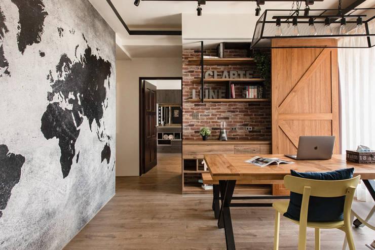 玩工業:  餐廳 by 澄月室內設計