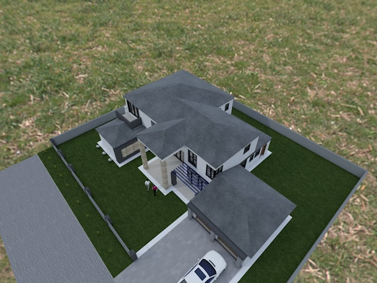 Rayton Pretoria:  Houses by MNM MULTI PROJECTS