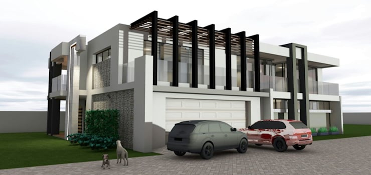 Country View Estate Centurion:  Houses by MNM MULTI PROJECTS