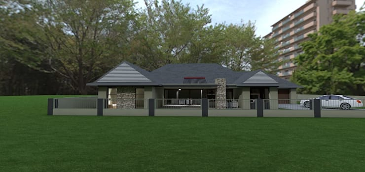 SAVANNAH COUNTRY ESTATE PRETORIA:  Houses by MNM MULTI PROJECTS , Classic