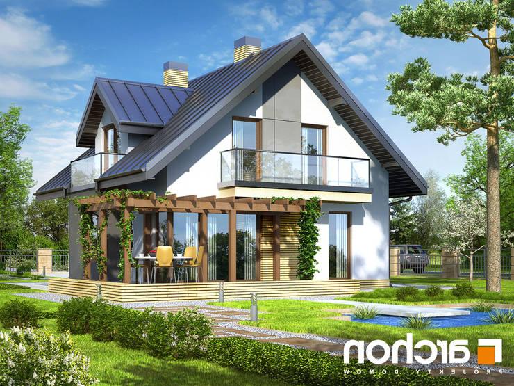 Casa Veronica: Casa prefabbricata  in stile  di Domus Green
