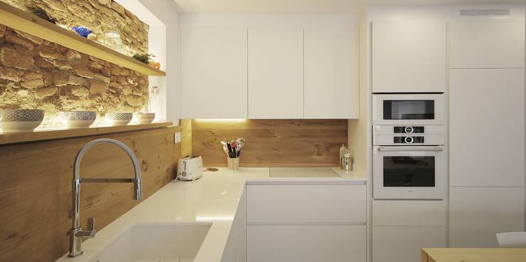 مطبخ تنفيذ Abrils Studio