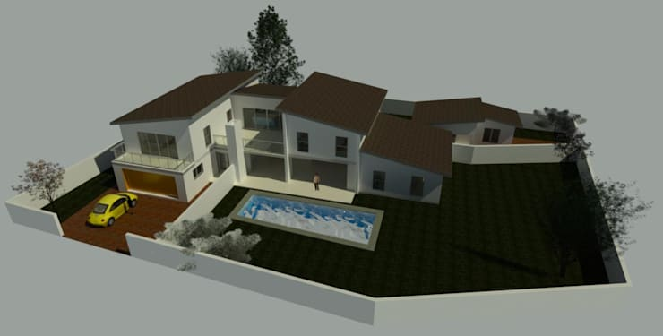 Limpopo Project:  Single family home by KGOBISA PROJECTS