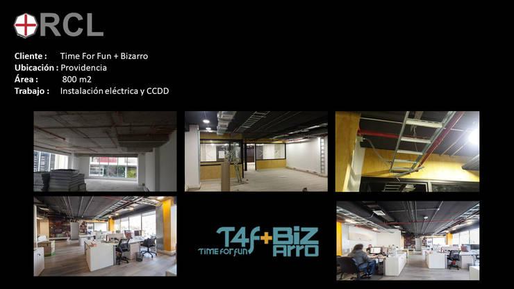 Oficinas productora:  de estilo  por Ingeniería Eléctrica Rcl