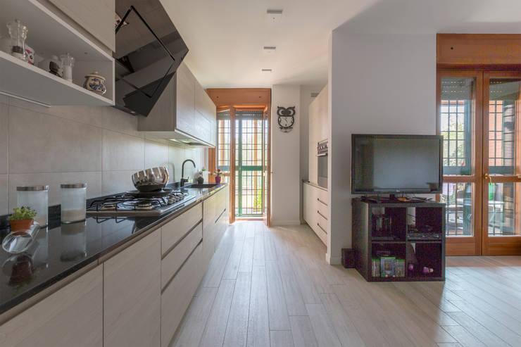 Встроенные кухни в . Автор – Ristrutturazione Case