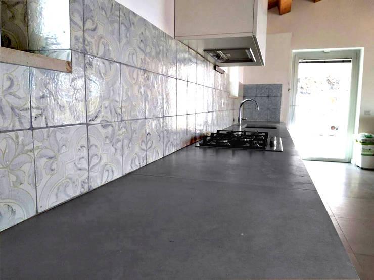 Pavimenti décor per dare un tocco di originalità alla cucina dilei