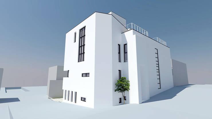 J House: 건축사사무소 어코드 URCODE ARCHITECTURE의
