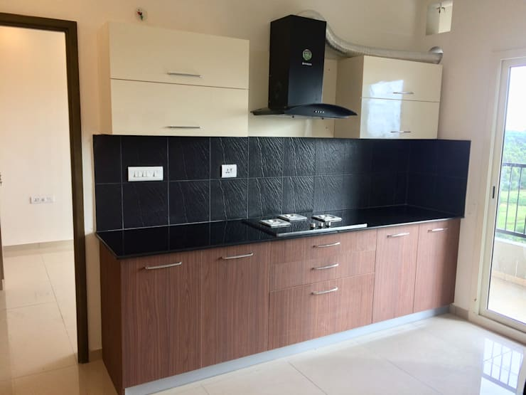 sobha dream acres:  Kitchen by Design Space