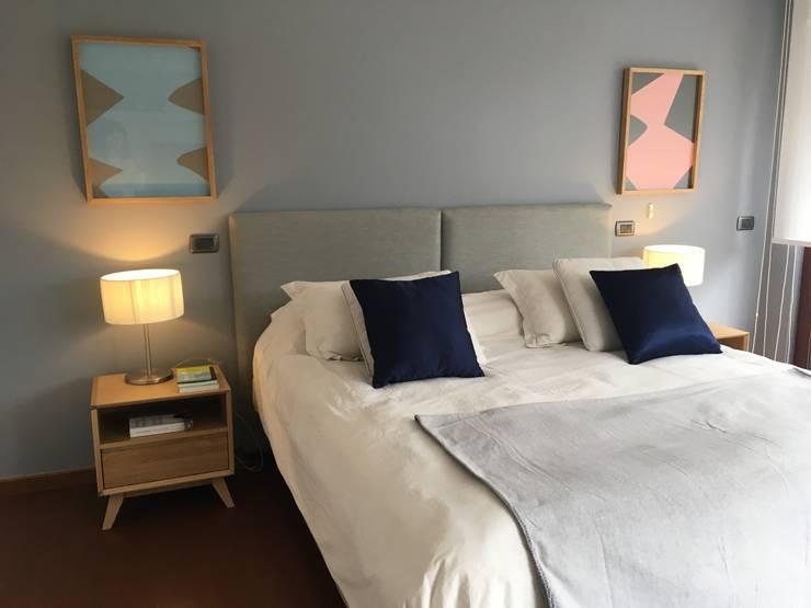 Vista Dormitorio Cuartos de estilo moderno de Moon Design Moderno