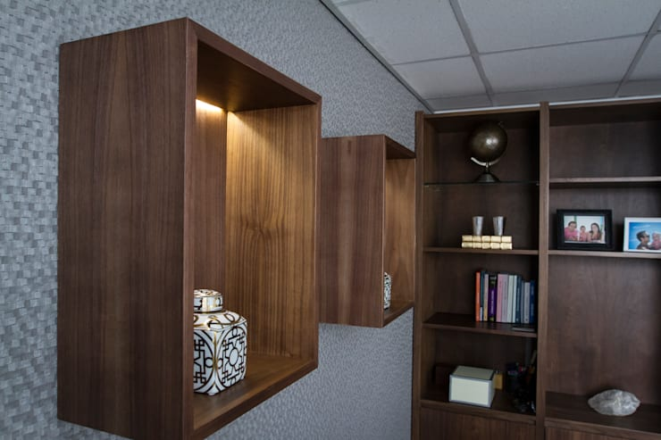 Remodelacion y Decoración de Oficinas : Oficinas y tiendas de estilo  por Moon Design