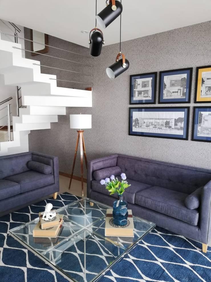 Living room by Contempo Deco