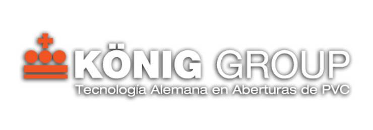 König Group es la nueva imagen de la empresa de sistemas en aberturas de PVC con mas trayectoria en el mercado local.: Hogar de estilo  por Konig Aberturas PVC,