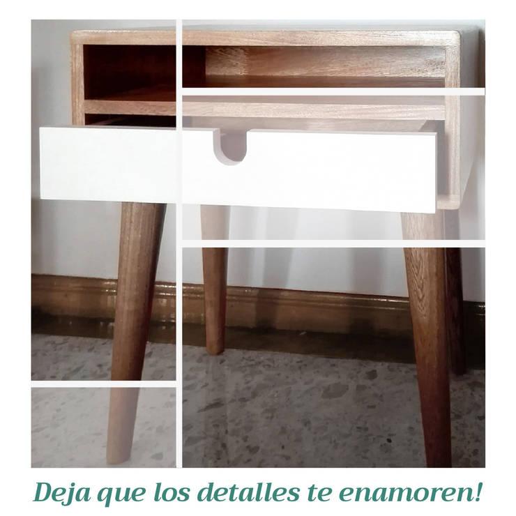 Nochero Vero: Dormitorios de estilo  por Like Design