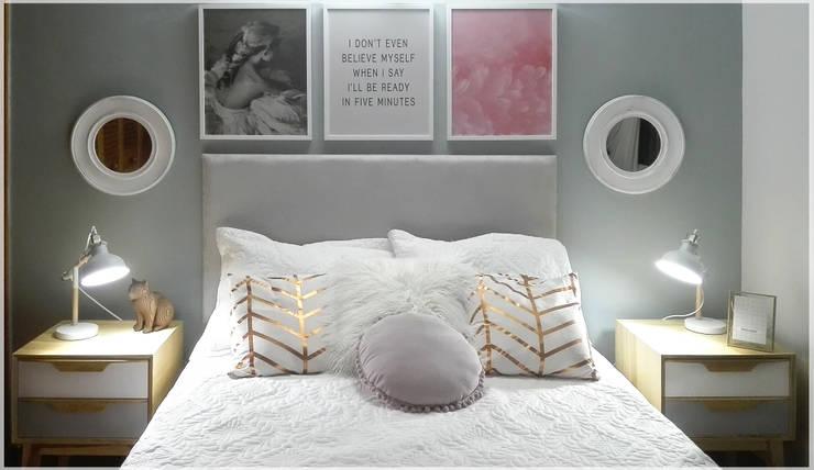 Nochero Nat: Dormitorios de estilo  por Like Design