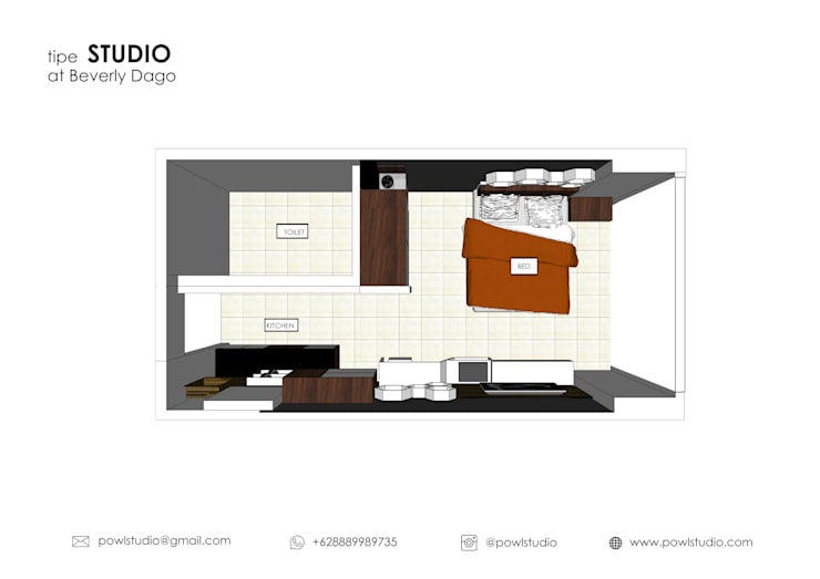 BEVERLY – Honeycomb Studio:   by POWL Studio