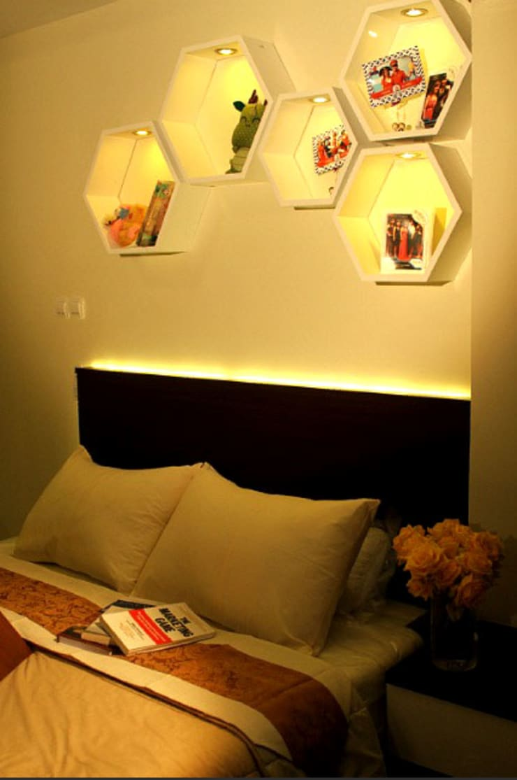 BEVERLY – Honeycomb Studio:  Kamar Tidur by POWL Studio