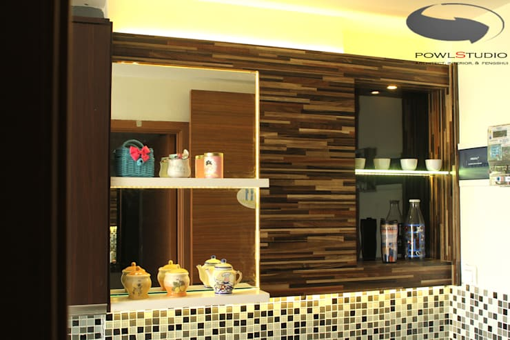 BEVERLY – Honeycomb Studio:  Kitchen by POWL Studio