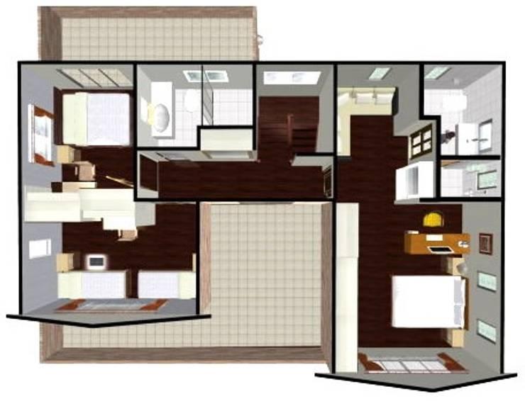 室內二樓平面圖:   by 安居住宅有限公司