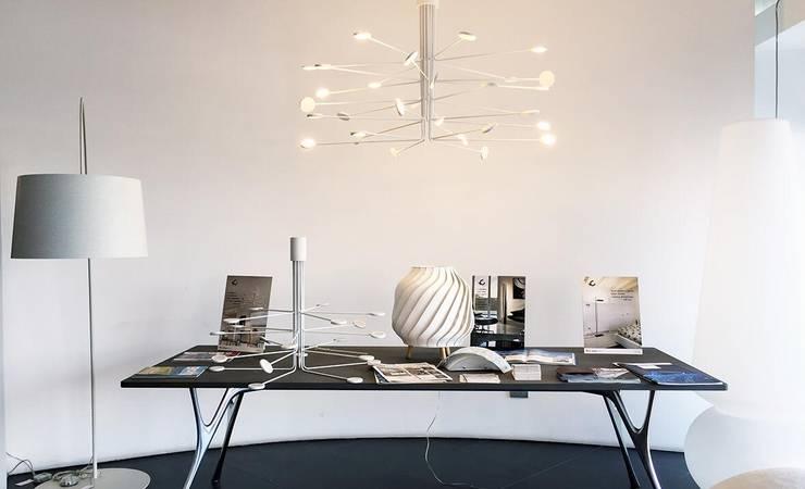 ICONE燈具意大利進口燈具品牌,意式風格照明設備:  客廳 by 北京恒邦信大国际贸易有限公司