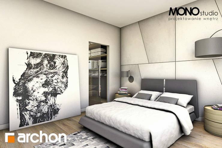 Casa prefabbricata Siena: Camera da letto in stile  di Domus Green