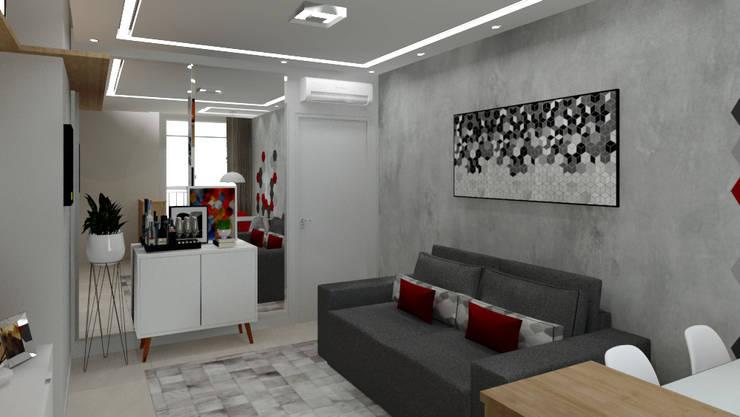 Bodegas modernas de Bruna Ferraresi Moderno Tablero DM