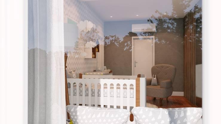 Quarto Bebê: Quartos de bebê  por Olivia Paterno