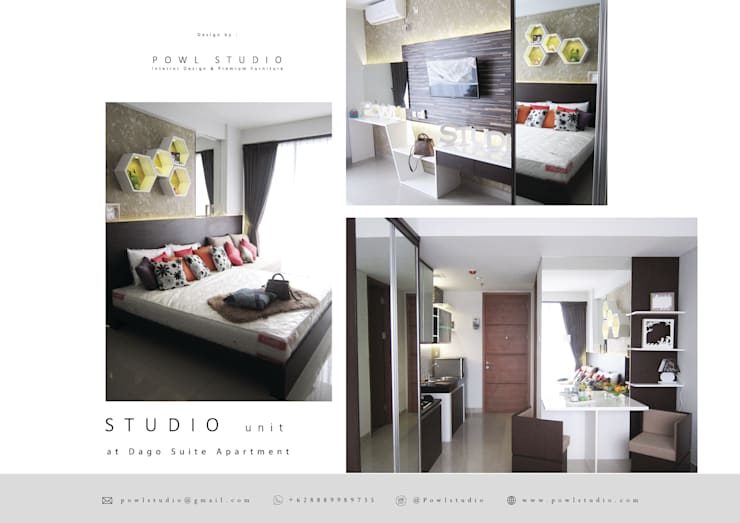 Dago Suite – Apartment Studio:   by POWL Studio