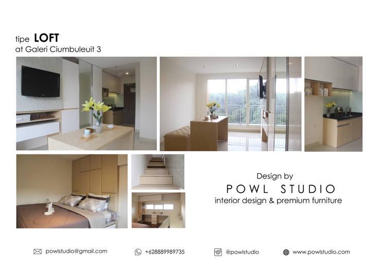 Galeri Ciumbuleuit III - Tipe Loft:   by POWL Studio