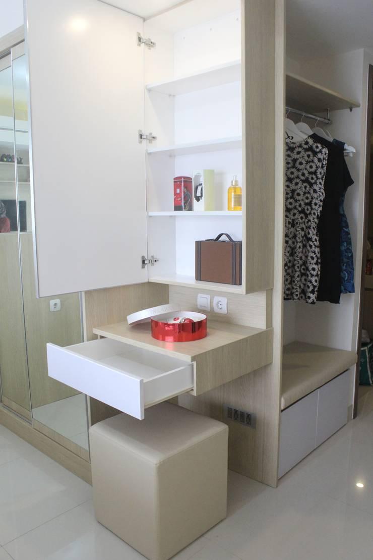 Galeri Ciumbuleuit III – Tipe Studio:  Bedroom by POWL Studio