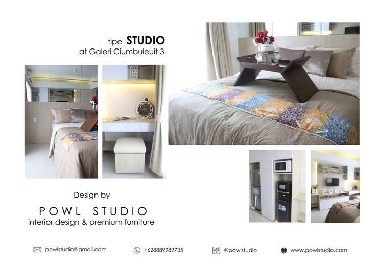 Galeri Ciumbuleuit III - Tipe Studio:   by POWL Studio