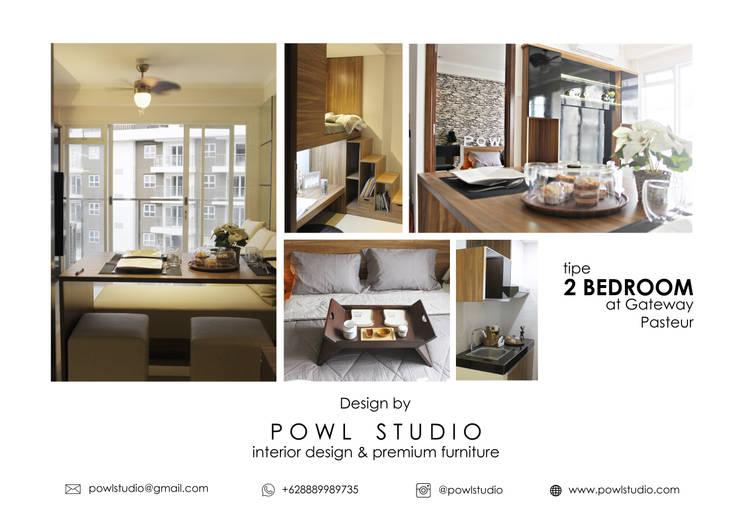 GATEWAY PASTEUR Jade Tipe 2 Bedroom:   by POWL Studio