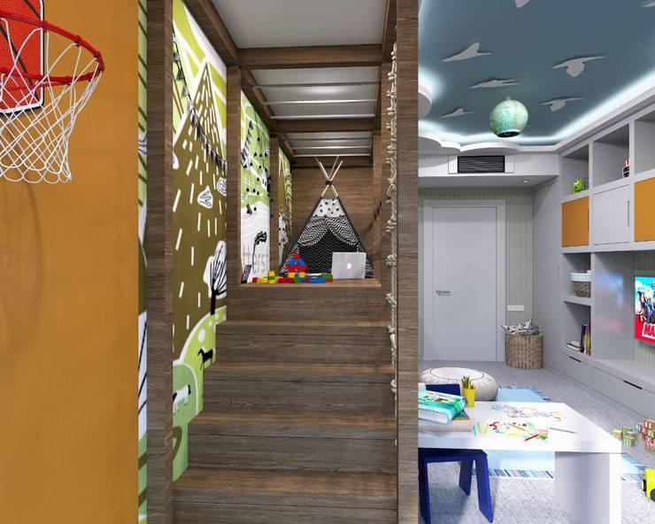 VERO CONCEPT MİMARLIK – Kalafatoglu Marina Residence:  tarz Çocuk Odası