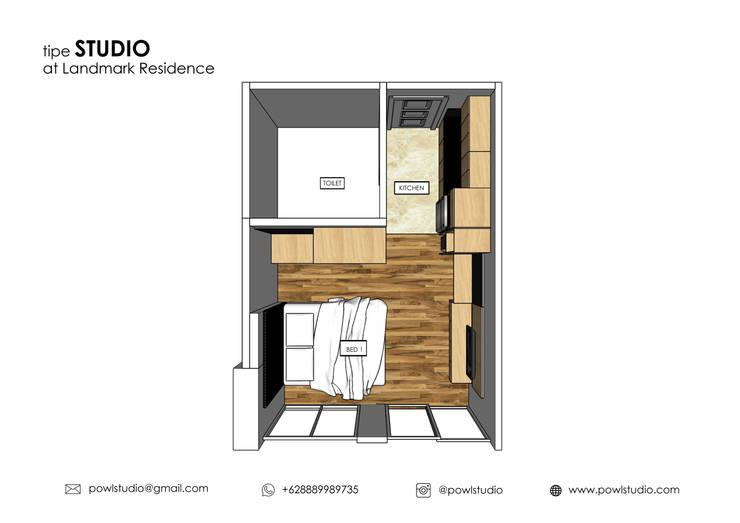 Apartment – Landmark type Studio:   by POWL Studio