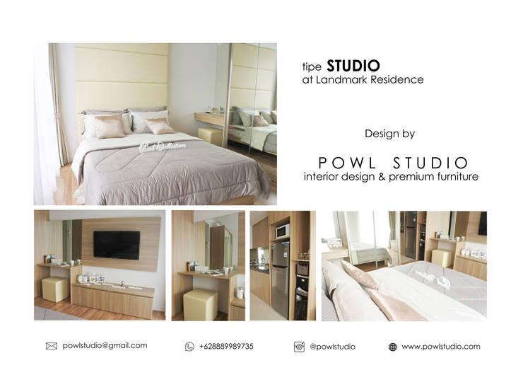 Apartment - Landmark type Studio:   by POWL Studio