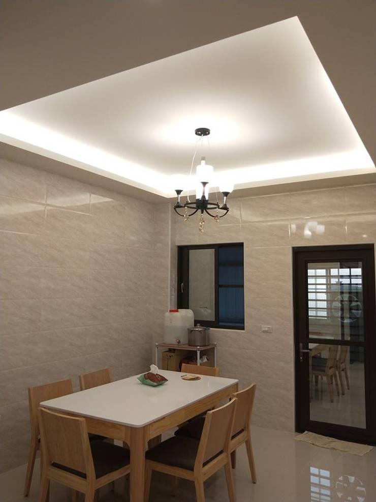Dining room by 頂尖室內設計工程行