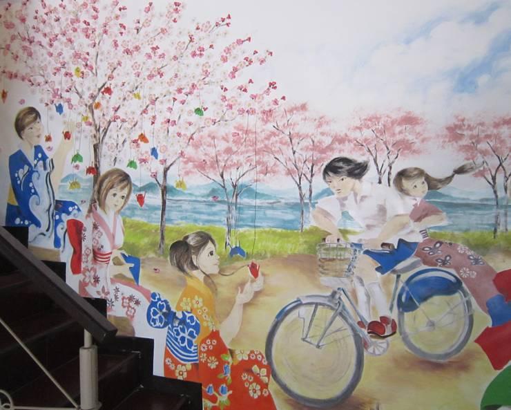 Mural :   by POWL Studio
