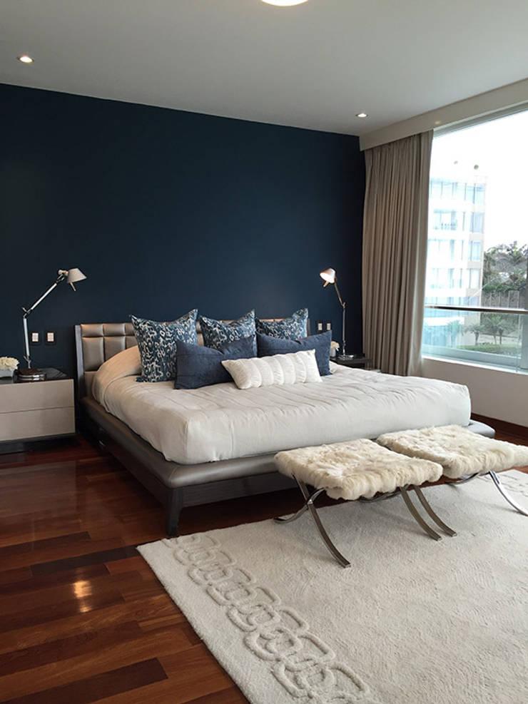 El Golf: Dormitorios de estilo  por Cecilia Fernandini Estudio