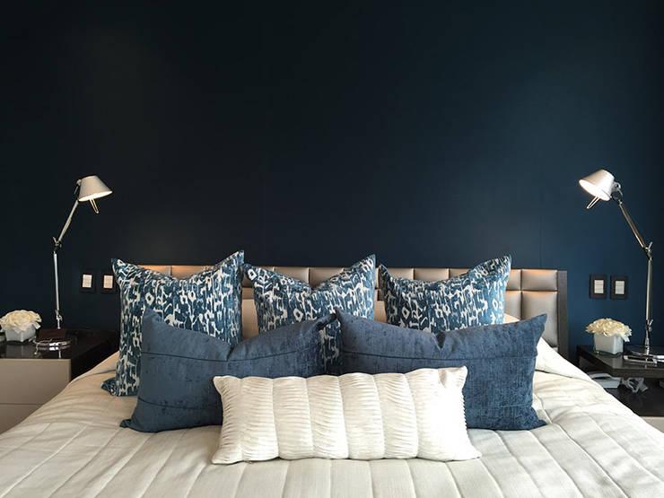 El Golf: Dormitorios de estilo  por Cecilia Fernandini Estudio,