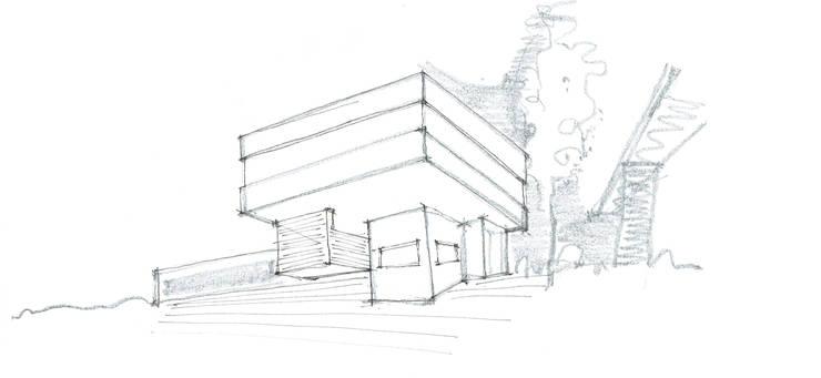 CASA JULI – BARRIO LOS ÁLAMOS – RÍO NEGRO: Casas de estilo  por Arq. Vieyra