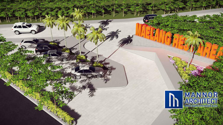 Parkir Area Gorontalo:   by Mannor Architect