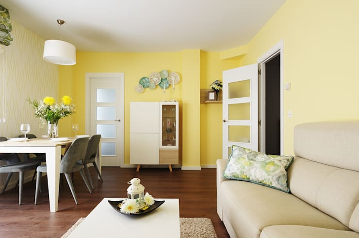 Living room by Noelia Villalba