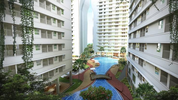Apartement Alterra:   by PT. DAA INTERPLAN INDONESIA