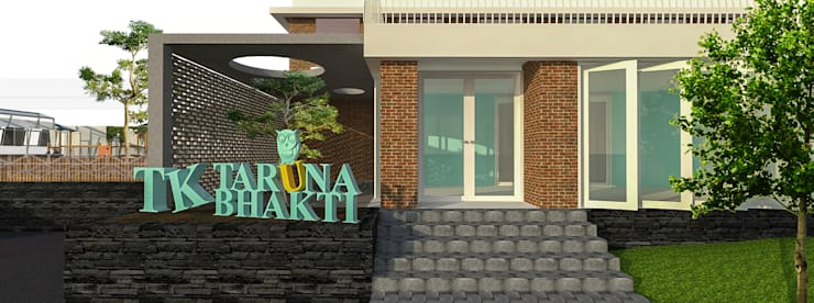 Desain Fasad:   by PT. DAA INTERPLAN INDONESIA