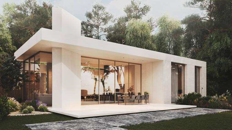 House in Jurmala: Дома в . Автор – Архитектурная студия Чадо