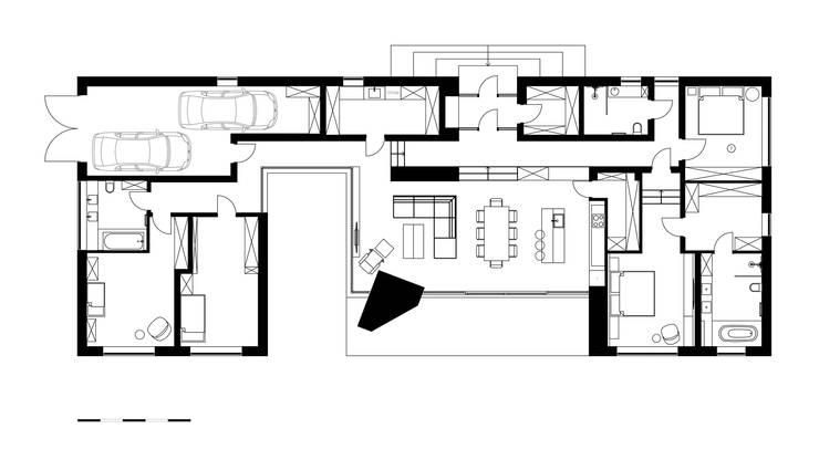 House in Jurmala:  в . Автор – Архитектурная студия Чадо
