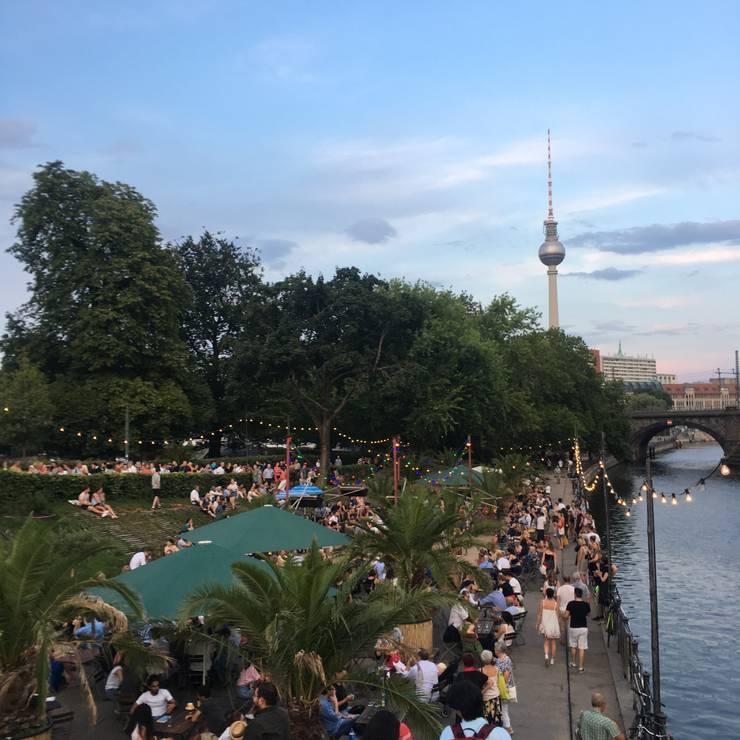 Berlin weekend (Hackescher Markt):  Garden by Minjung Lee - homify