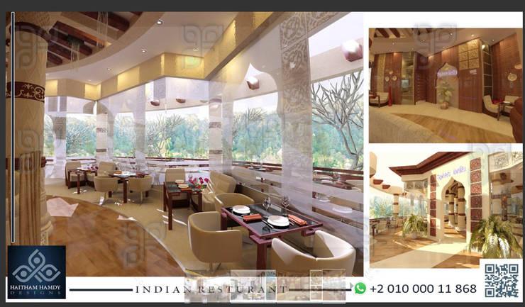مطعم بالزمالك:  مكاتب العمل والمحال التجارية تنفيذ UTOPIA DESIGNS AND CONSTRUCTION,