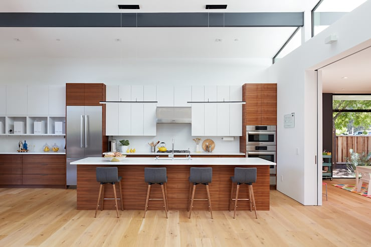 Los Altos New Residence By Klopf Architecture:  Kitchen by Klopf Architecture