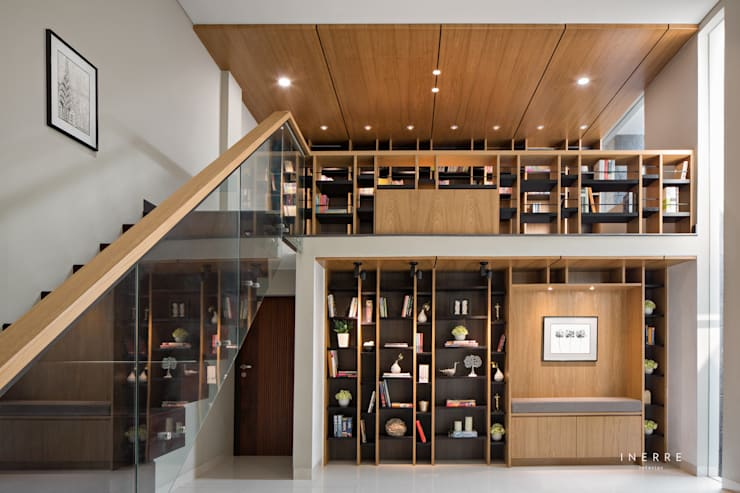 Library:  Ruang Kerja by INERRE Interior